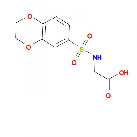 (2,3-Dihydrobenzo[b][1,4]dioxin-6-sulfamido)acetic acid