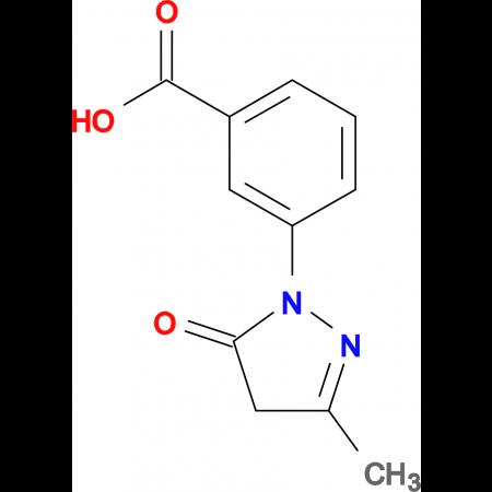 3-(3-Methyl-5-oxo-4,5-dihydro-pyrazol-1-yl)-benzoic acid