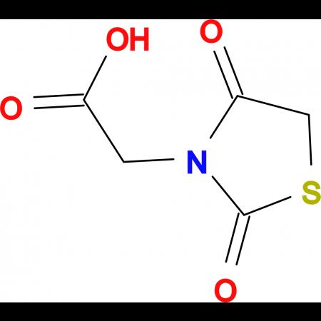 (2,4-Dioxo-thiazolidin-3-yl)-acetic acid