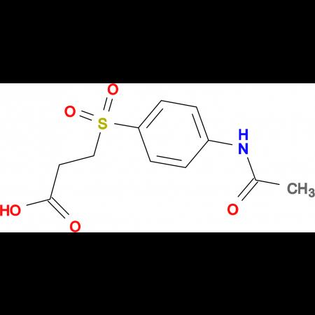 3-(4-Acetylamino-benzenesulfonyl)-propionic acid