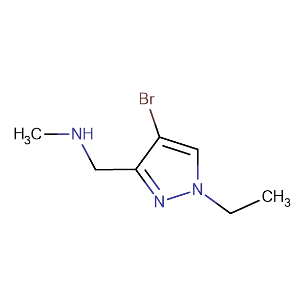 (4-Bromo-1-ethyl-1 H -pyrazol-3-ylmethyl)-methyl-amine