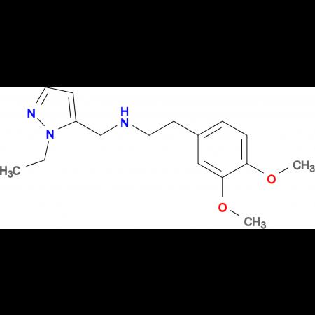[2-(3,4-Dimethoxy-phenyl)-ethyl]-(2-ethyl-2 H -pyrazol-3-ylmethyl)-amine