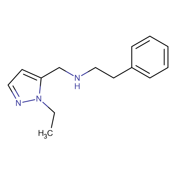 (2-Ethyl-2 H -pyrazol-3-ylmethyl)-phenethyl-amine