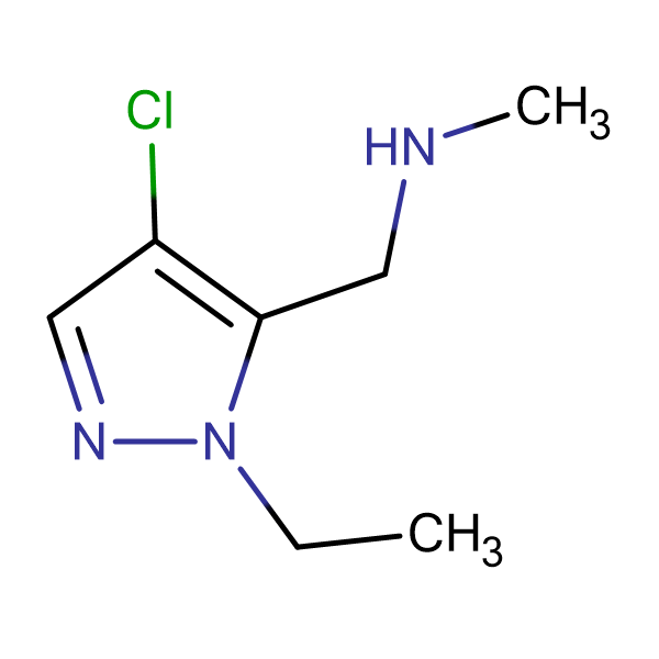 (4-Chloro-2-ethyl-2 H -pyrazol-3-ylmethyl)-methyl-amine
