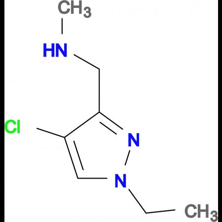(4-Chloro-1-ethyl-1 H -pyrazol-3-ylmethyl)-methyl-amine