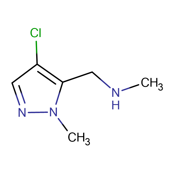 (4-Chloro-2-methyl-2 H -pyrazol-3-ylmethyl)-methyl-amine