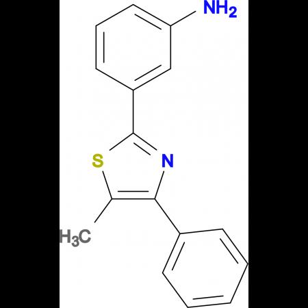 3-(5-Methyl-4-phenyl-thiazol-2-yl)-phenylamine
