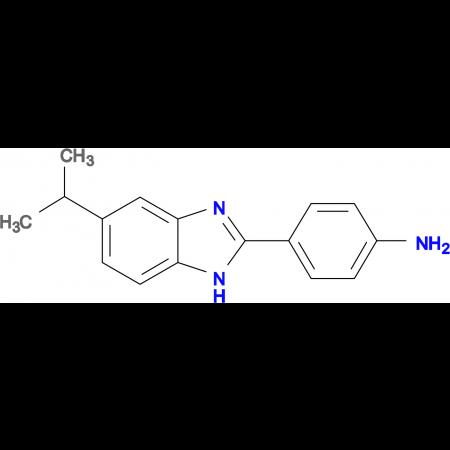 4-(5-Isopropyl-1 H -benzoimidazol-2-yl)-phenylamine