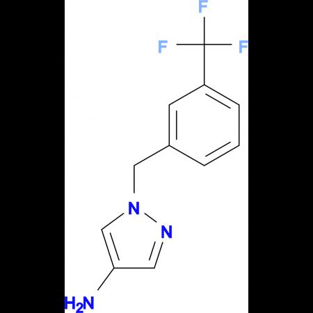 1-(3-Trifluoromethyl-benzyl)-1 H -pyrazol-4-ylamine hydrochloride