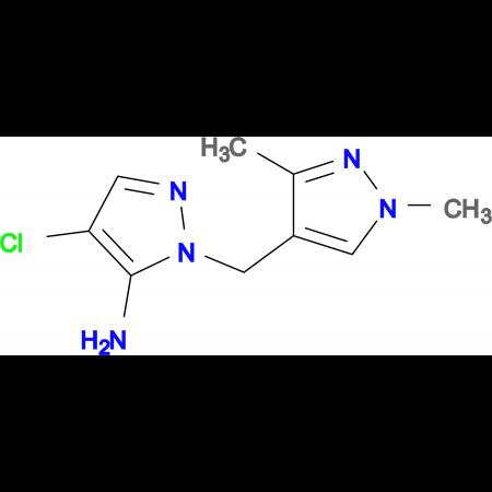 4-Chloro-2-(1,3-dimethyl-1 H -pyrazol-4-ylmethyl)-2 H -pyrazol-3-ylamine