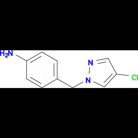 4-(4-Chloro-pyrazol-1-ylmethyl)-phenylamine