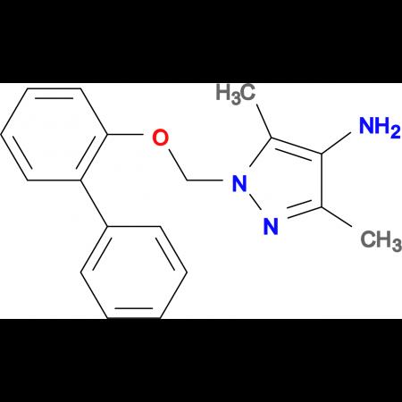 1-(Biphenyl-2-yloxymethyl)-3,5-dimethyl-1 H -pyrazol-4-ylamine