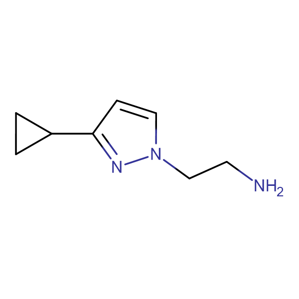 2-(3-Cyclopropyl-pyrazol-1-yl)-ethylamine