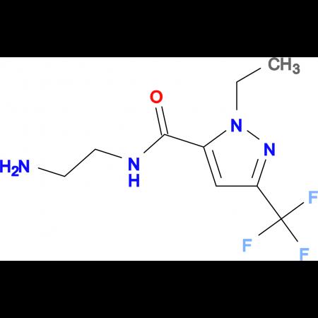 2-Ethyl-5-trifluoromethyl-2 H -pyrazole-3-carboxylic acid (2-amino-ethyl)-amide