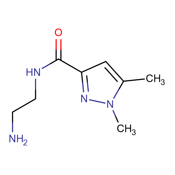 1,5-Dimethyl-1 H -pyrazole-3-carboxylic acid (2-amino-ethyl)-amide
