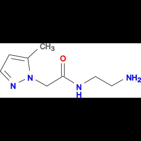 N -(2-Amino-ethyl)-2-(5-methyl-pyrazol-1-yl)-acetamide