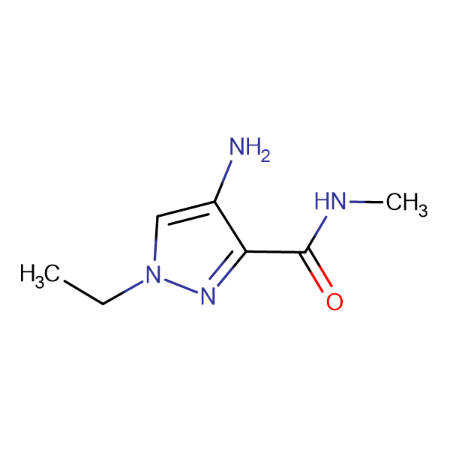 4-Amino-1-ethyl-1 H -pyrazole-3-carboxylic acid methylamide