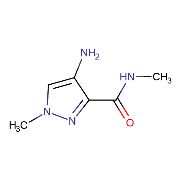 4-Amino-1-methyl-1 H -pyrazole-3-carboxylic acid methylamide