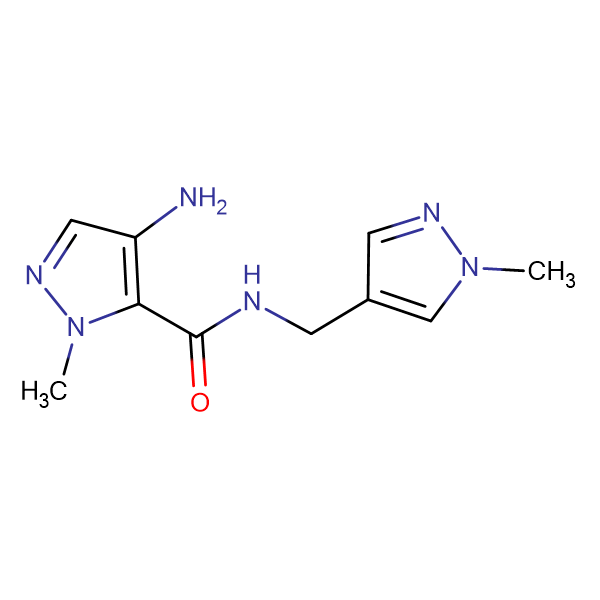 4-Amino-2-methyl-2 H -pyrazole-3-carboxylic acid (1-methyl-1 H -pyrazol-4-ylmethyl)-amide