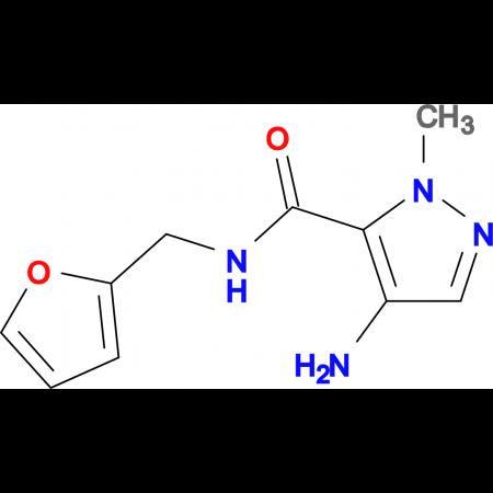 4-Amino-2-methyl-2 H -pyrazole-3-carboxylic acid (furan-2-ylmethyl)-amide