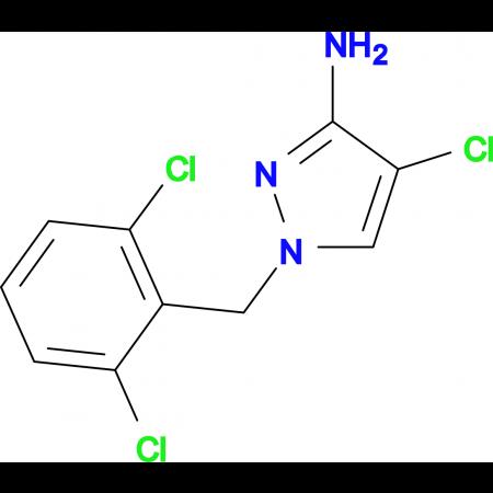 4-Chloro-1-(2,6-dichloro-benzyl)-1 H -pyrazol-3-ylamine