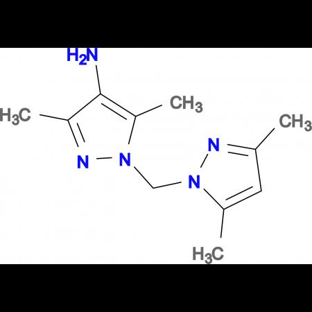 1-(3,5-Dimethyl-pyrazol-1-ylmethyl)-3,5-dimethyl-1 H -pyrazol-4-ylamine