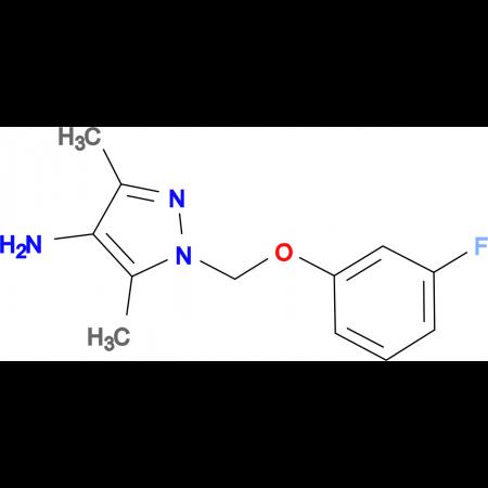 1-(3-Fluoro-phenoxymethyl)-3,5-dimethyl-1 H -pyrazol-4-ylamine