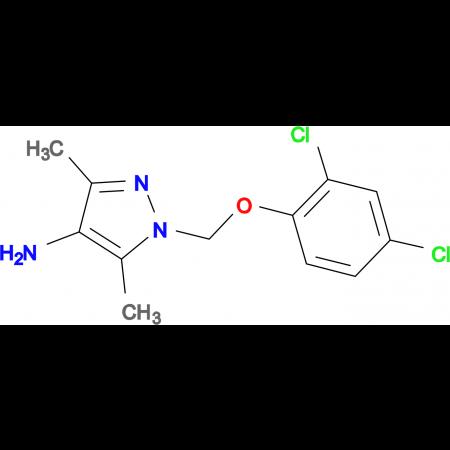 1-(2,4-Dichloro-phenoxymethyl)-3,5-dimethyl-1 H -pyrazol-4-ylamine