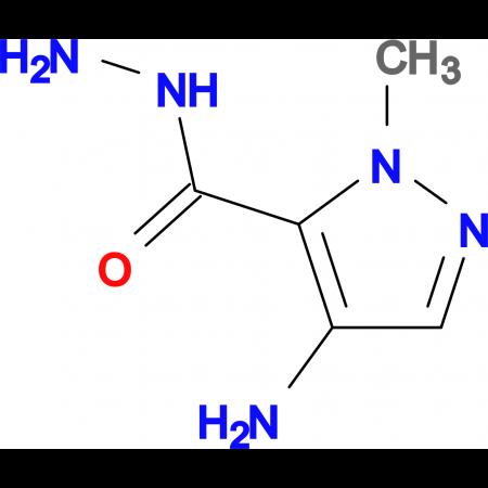 4-Amino-2-methyl-2 H -pyrazole-3-carboxylic acid hydrazide