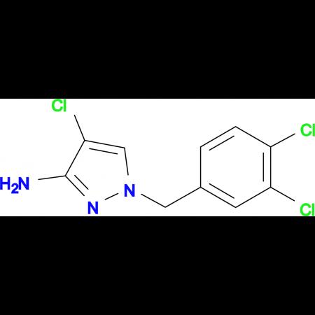 4-Chloro-1-(3,4-dichloro-benzyl)-1 H -pyrazol-3-ylamine