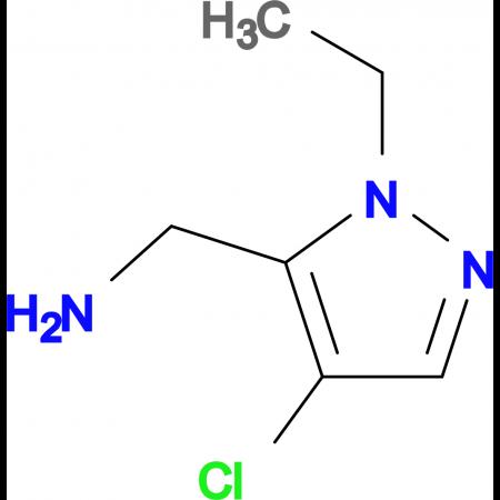 C -(4-Chloro-2-ethyl-2 H -pyrazol-3-yl)-methylamine