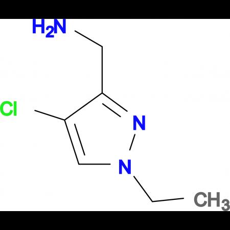 C -(4-Chloro-1-ethyl-1 H -pyrazol-3-yl)-methylamine hydrochloride