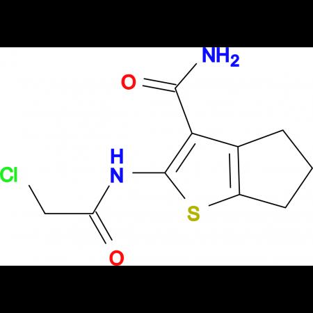 2-(2-Chloro-acetylamino)-5,6-dihydro-4 H -cyclopenta[ b ]thiophene-3-carboxylic acid amide