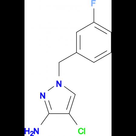 4-Chloro-1-(3-fluoro-benzyl)-1 H -pyrazol-3-ylamine