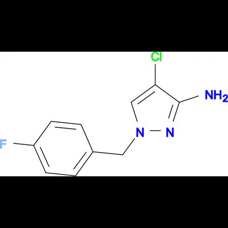 4-Chloro-1-(4-fluoro-benzyl)-1 H -pyrazol-3-ylamine
