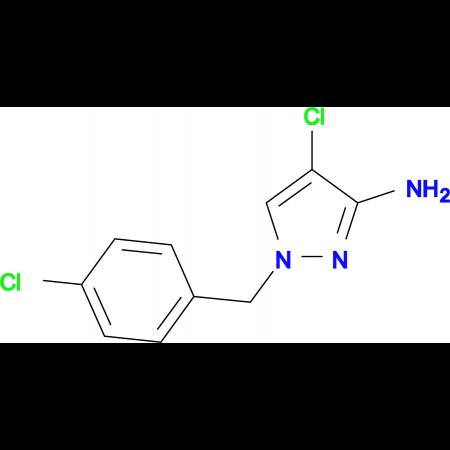 4-Chloro-1-(4-chloro-benzyl)-1 H -pyrazol-3-ylamine