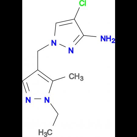 4-Chloro-1-(1-ethyl-5-methyl-1 H -pyrazol-4-ylmethyl)-1 H -pyrazol-3-ylamine