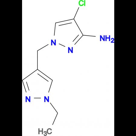 4-Chloro-1-(1-ethyl-1 H -pyrazol-4-ylmethyl)-1 H -pyrazol-3-ylamine