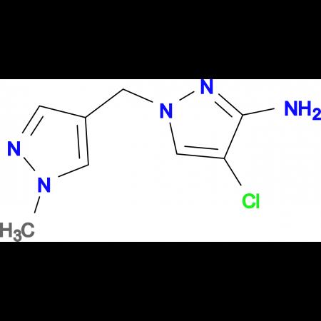 4-Chloro-1-(1-methyl-1 H -pyrazol-4-ylmethyl)-1 H-pyrazol-3-ylamine