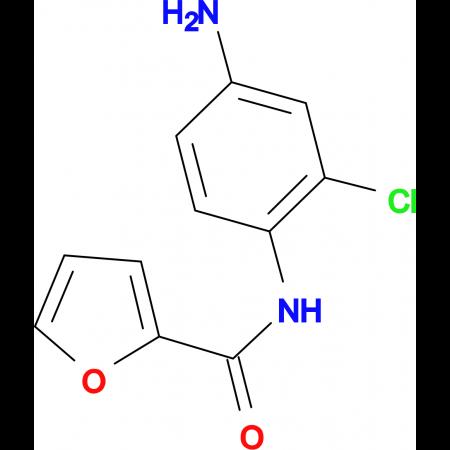 Furan-2-carboxylic acid (4-amino-2-chloro-phenyl)-amide