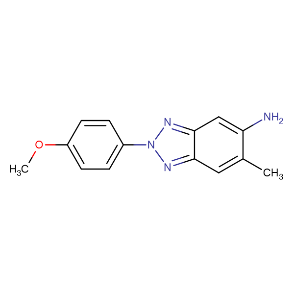 2-(4-Methoxy-phenyl)-6-methyl-2 H -benzotriazol-5-ylamine