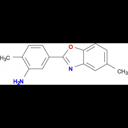 2-Methyl-5-(5-methyl-benzooxazol-2-yl)-phenylamine
