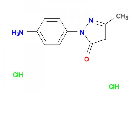 2-(4-Amino-phenyl)-5-methyl-2,4-dihydro-pyrazol-3-one dihydrochloride