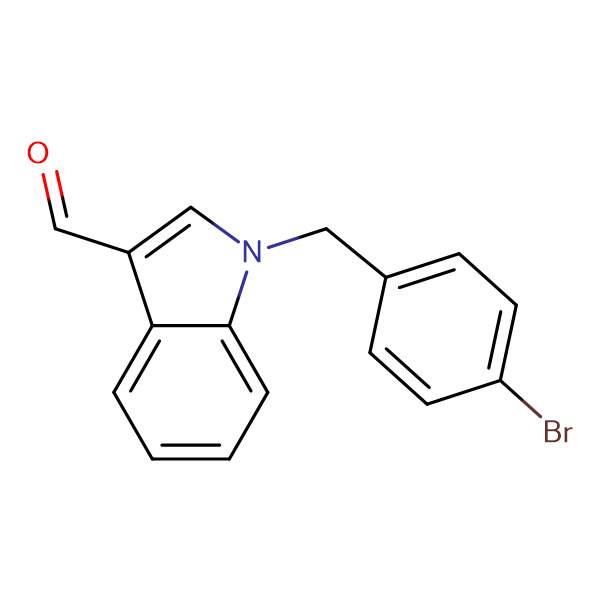 1-(4-Bromo-benzyl)-1 H -indole-3-carbaldehyde