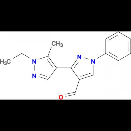 1'-Ethyl-5'-methyl-1-phenyl-1 H ,1' H -[3,4']bipyrazolyl-4-carbaldehyde