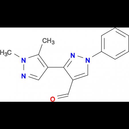 1',5'-Dimethyl-1-phenyl-1 H ,1' H -[3,4']bipyrazolyl-4-carbaldehyde