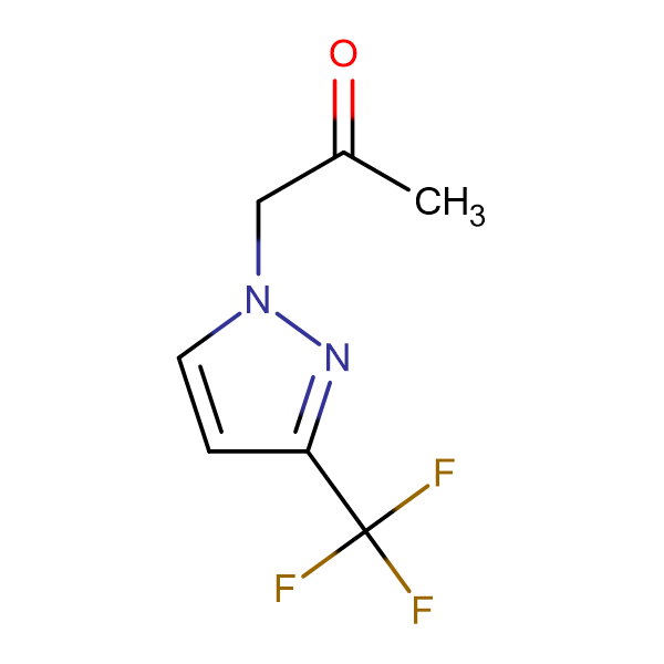 1-(3-Trifluoromethyl-pyrazol-1-yl)-propan-2-one