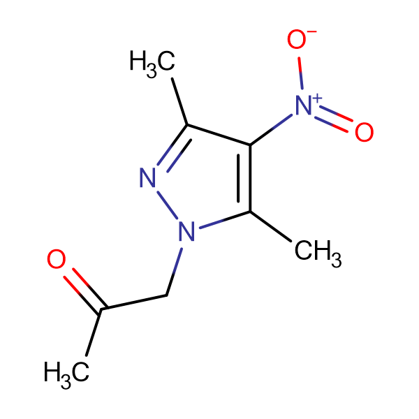 1-(3,5-Dimethyl-4-nitro-pyrazol-1-yl)-propan-2-one