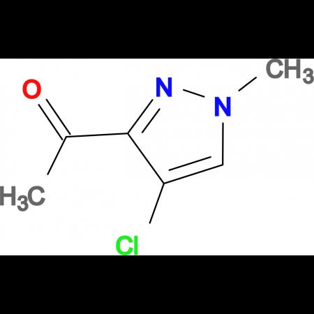 1-(4-Chloro-1-methyl-1H-pyrazol-3-yl)-ethanone
