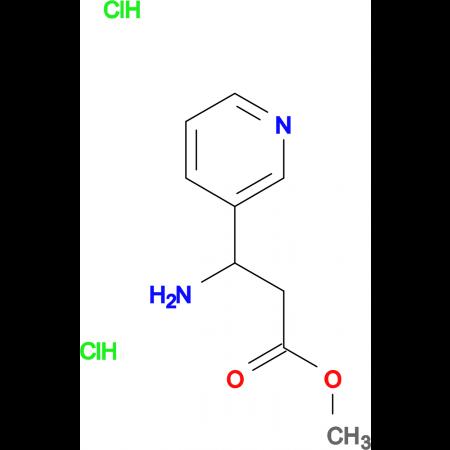 3-Amino-3-pyridin-3-yl-propionic acid methyl ester; dihydrochloride